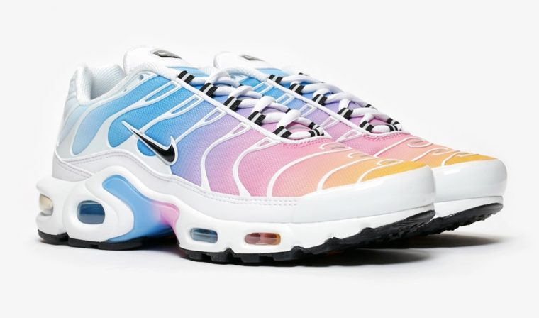 Nike Air Max Plus Blue Pink 605112 115 The Sole Womens
