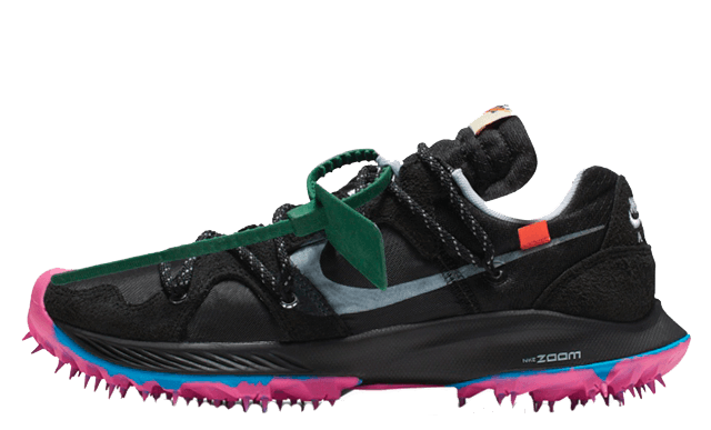 Off-White x Nike Zoom Terra Kiger 5 Black CD8179-001