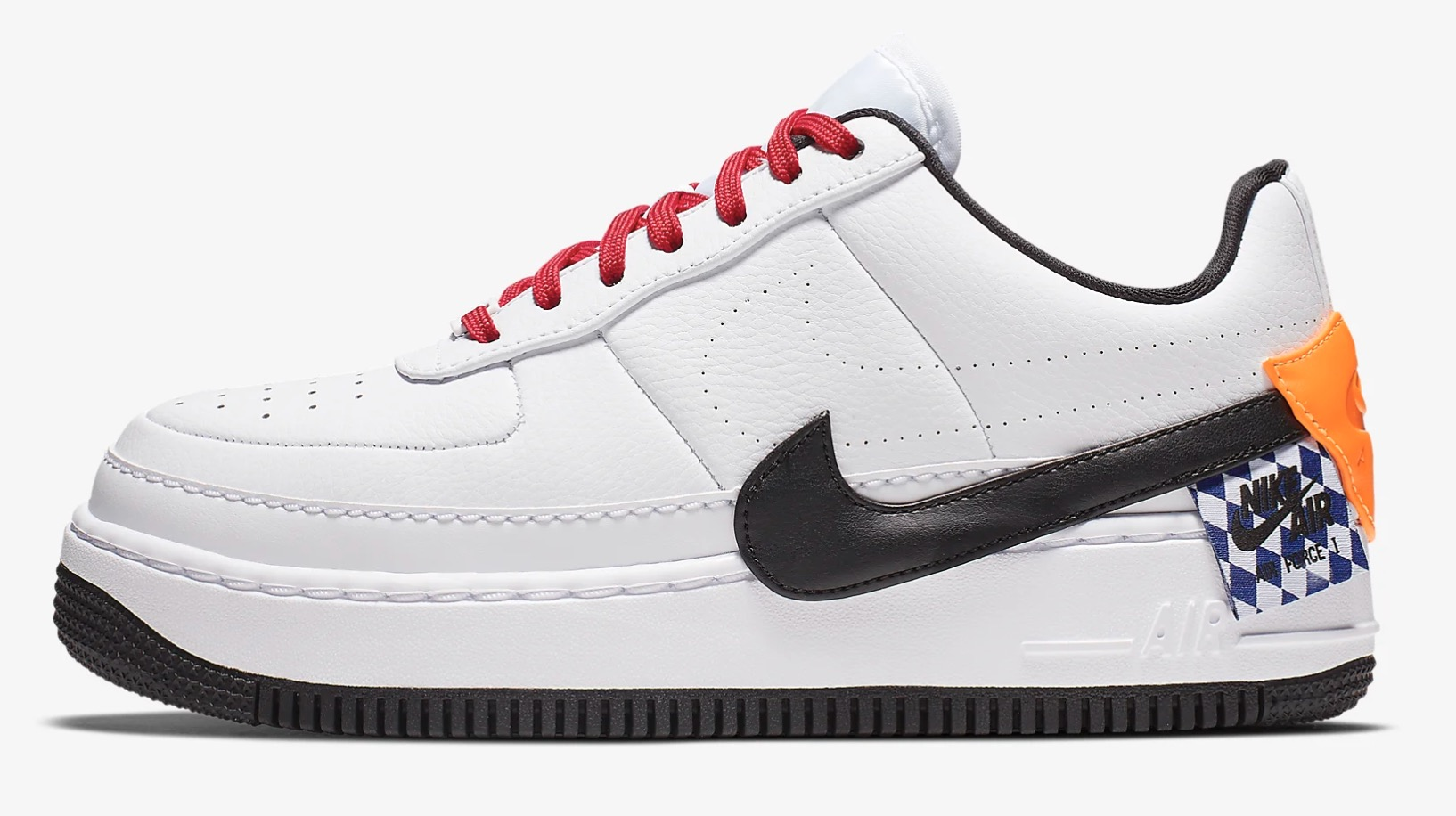Take A Look At The Colourful Details On This Nike AF 1