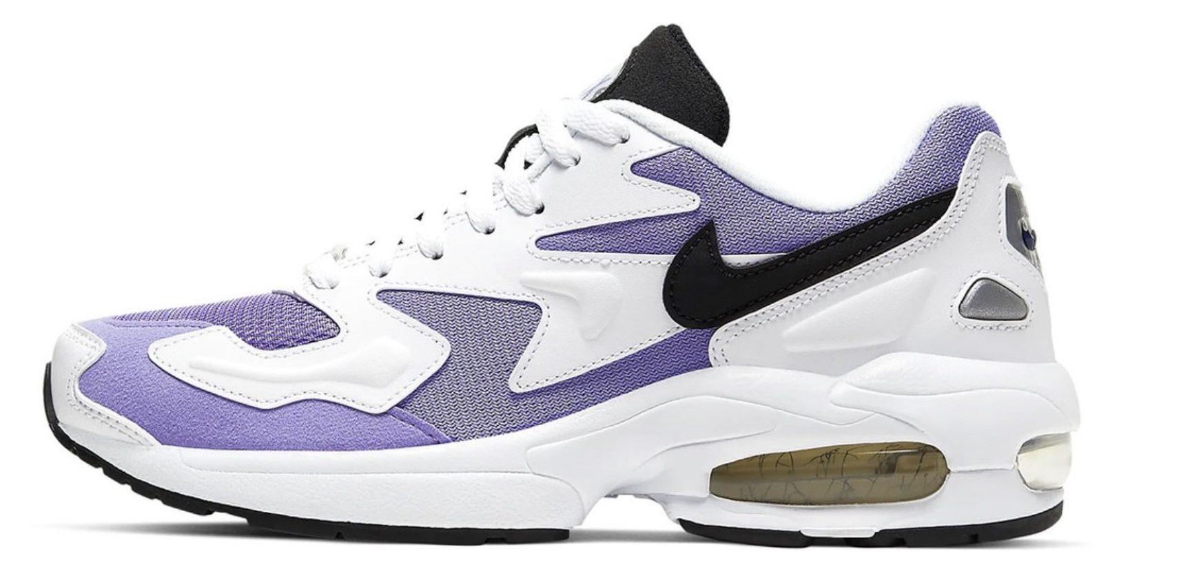 best cheap ae9c8 0b4eb This Nike Air Max 2 Light Is A Dream In  Medium Violet