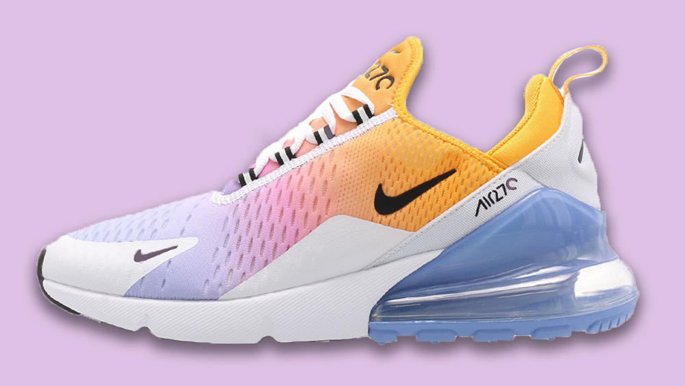 hot sale online a06e6 893ac The Nike Air Max 270 Gets A Pop Of Colour | Style Guides ...