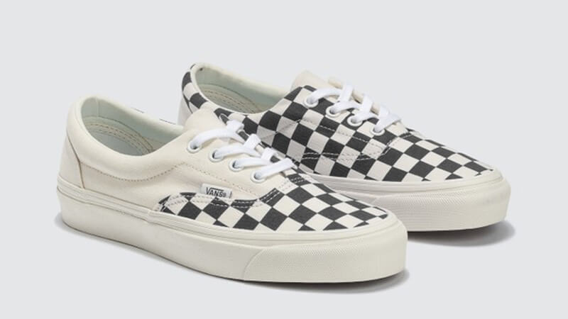 Vans Era Craft White Check front