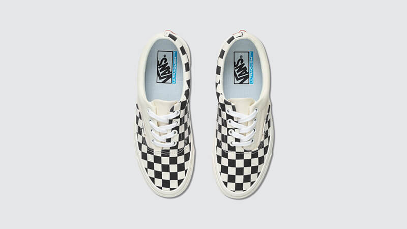 Vans Era Craft White Check middle