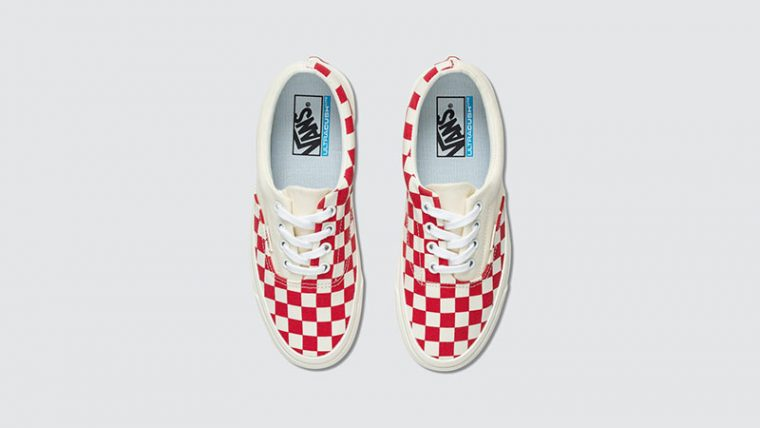 Vans Era Craft White Red Check middle thumbnail image