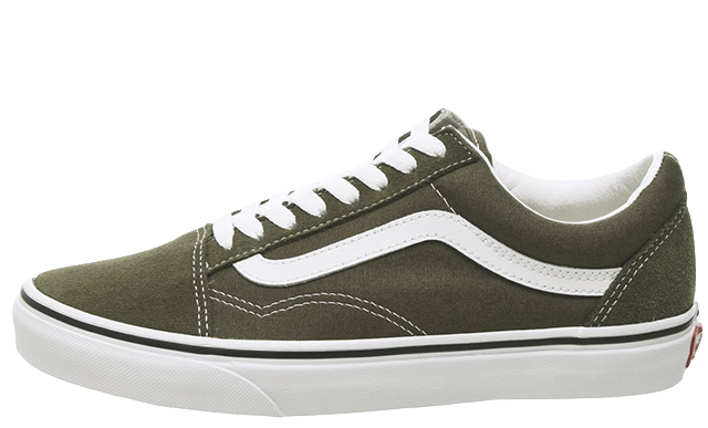 Vans Old Skool Green White