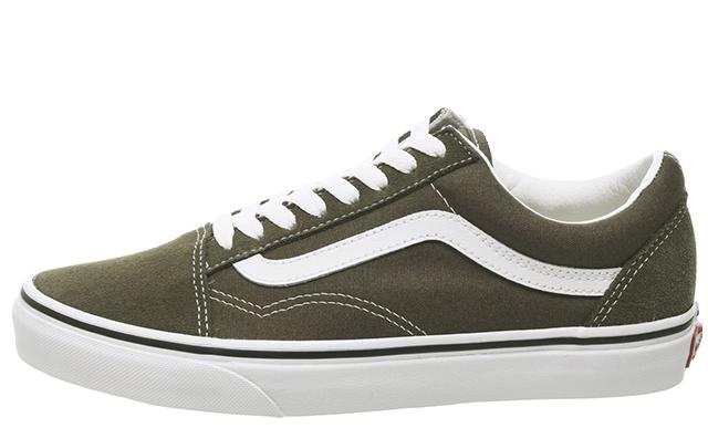 Vans Old Skool Green White