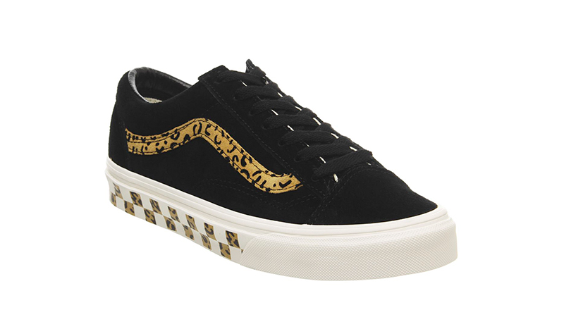 Vans Style 36 Trainers Black Taffy front