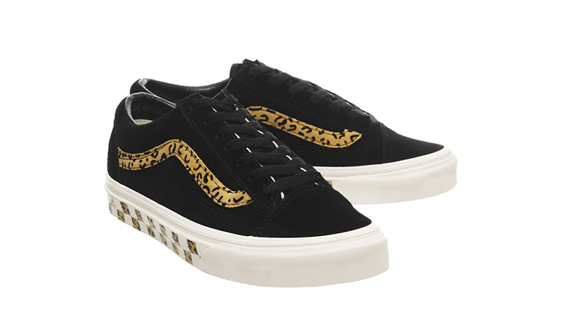 Vans Style 36 Trainers Black Taffy side