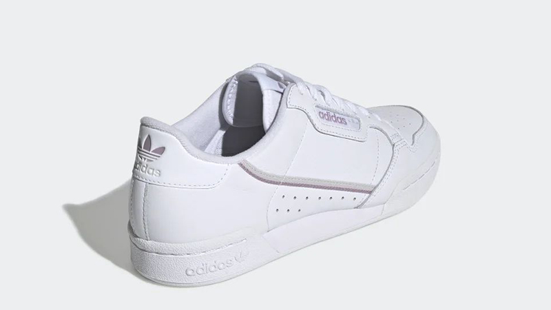 adidas Continental 80 White Purple EG8136 back