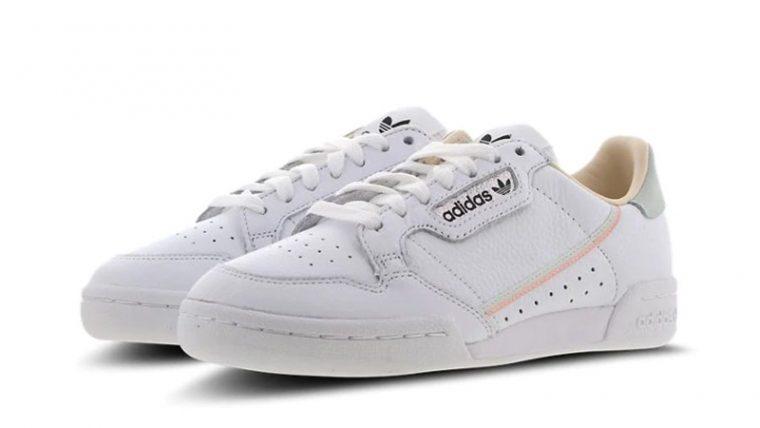 adidas Continental 80 White Women EF3643 front thumbnail image