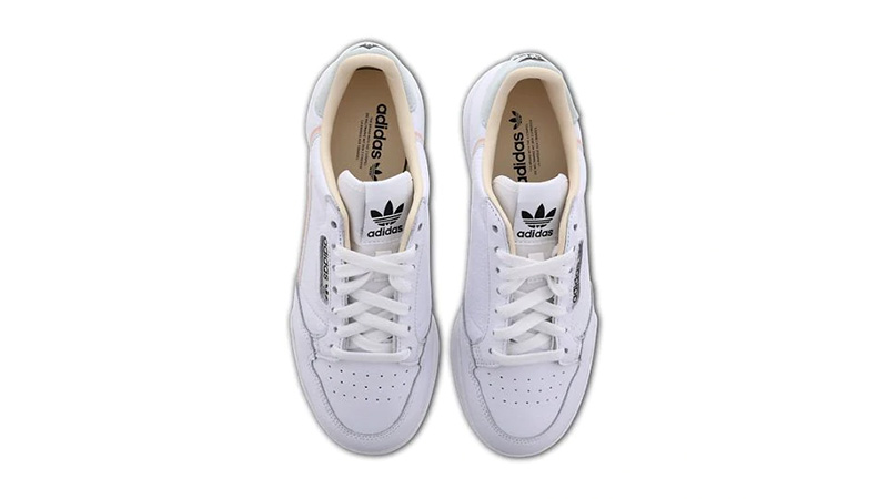adidas Continental 80 White Women EF3643 middle