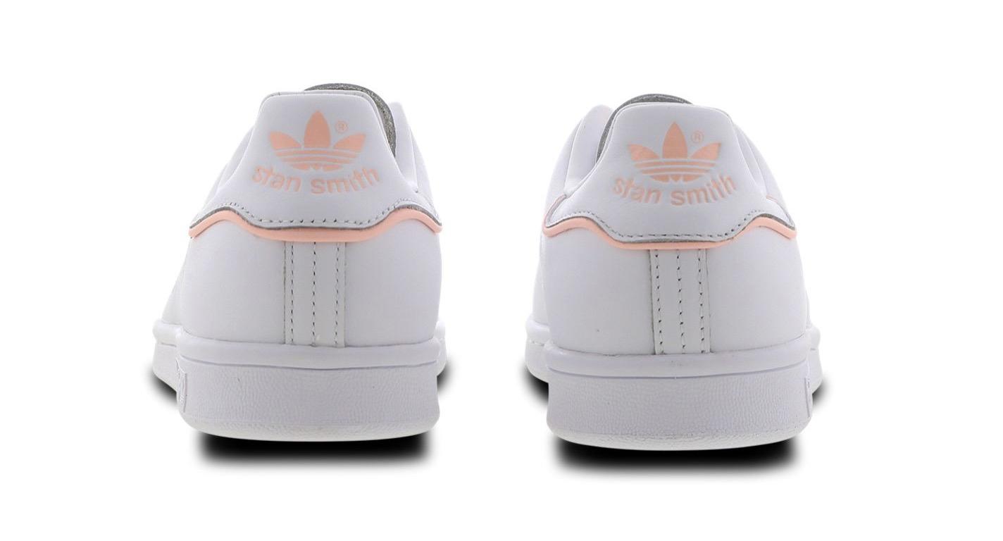 adidas Stan Smith Mini Trefoil White Pink