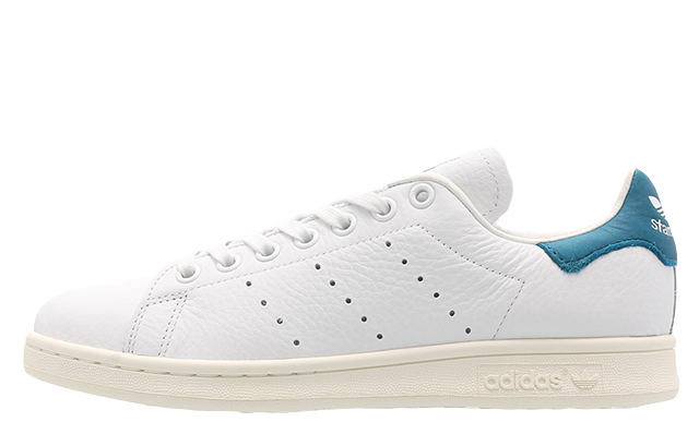 size 40 af3fc 297bc adidas Stan Smith White Teal Womens | EF9321