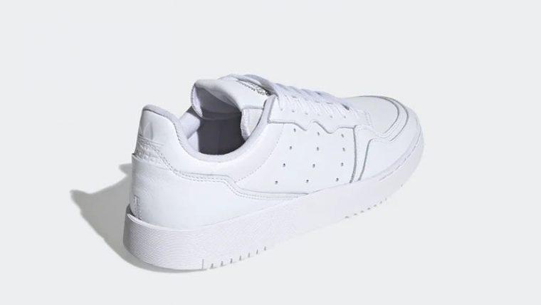 adidas Supercourt White EE6037 back