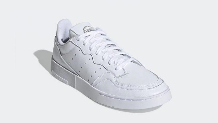 adidas Supercourt White EE6037 front thumbnail image