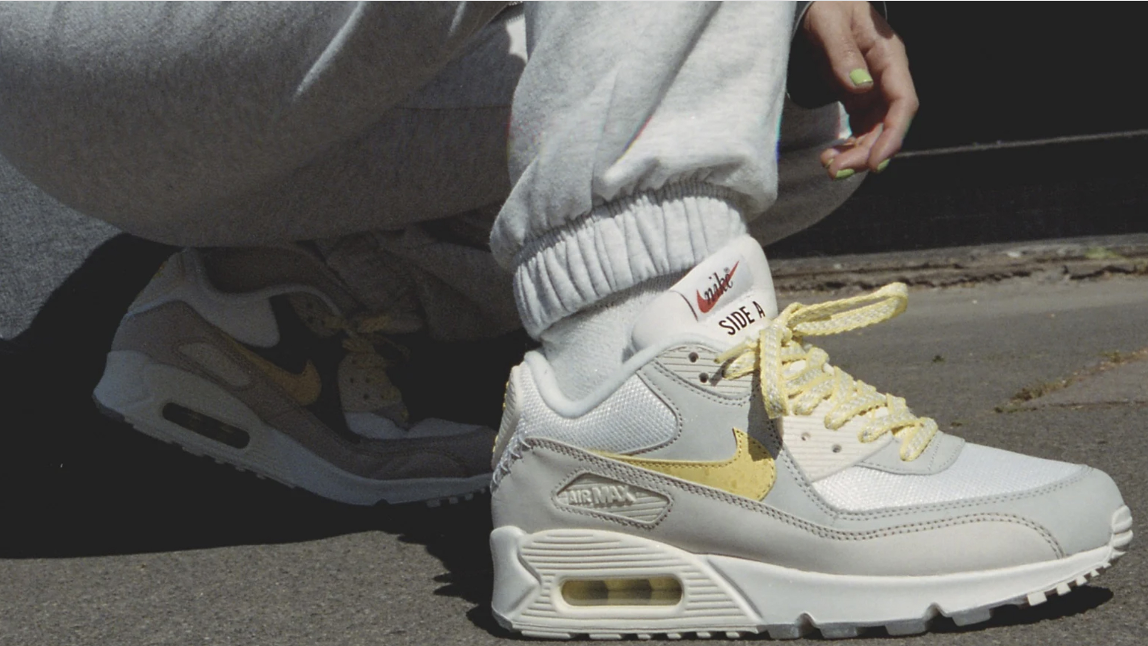 A Closer Look At The Upcoming Nike Air Max 90 Mix Tape 'Side