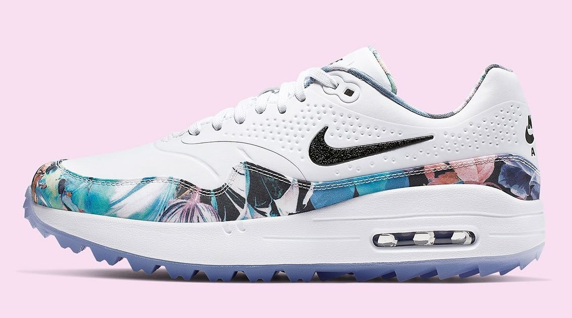 7802605492 Take The Green To The Streets With The Floral Nike Air Max 1 Golf ...
