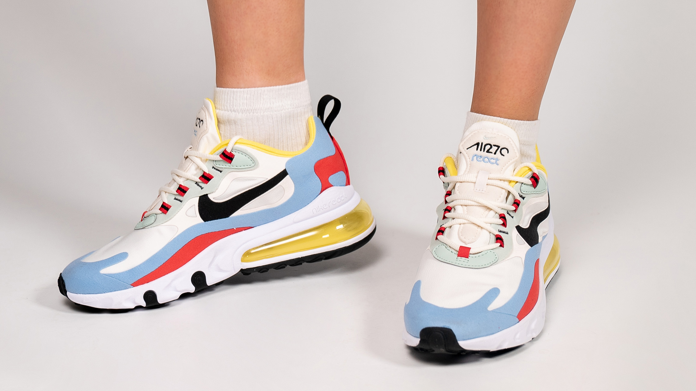 reputable site 69fdc fcdd8 An Exclusive On Foot Look At The Nike Air Max 270 React ...