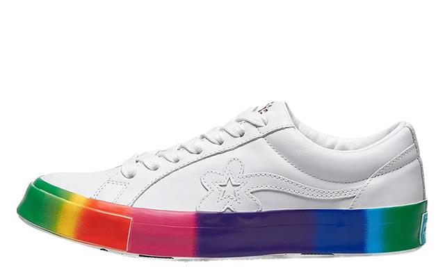 Golf Le Fleur x Converse OX Rainbow 166409C