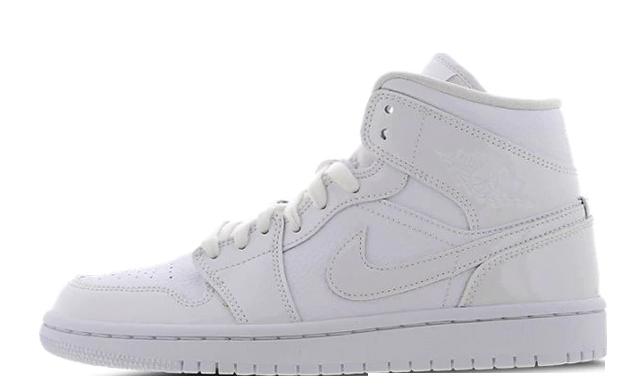 Jordan 1 Mid White BQ6472-100