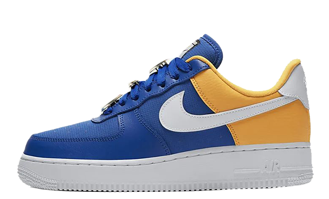 Nike Air Force 1 07 Blue Yellow AA0287-401