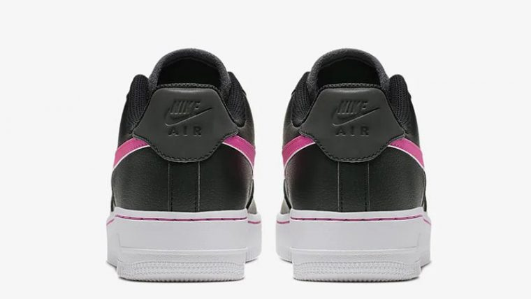 Nike Air Force 1 Low Black Pink CJ9699-001 back thumbnail image
