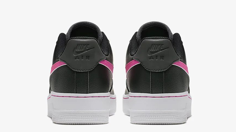 Nike Air Force 1 Low Black Pink CJ9699-001 back