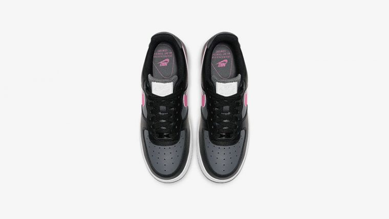 Nike Air Force 1 Low Black Pink CJ9699-001 middle thumbnail image