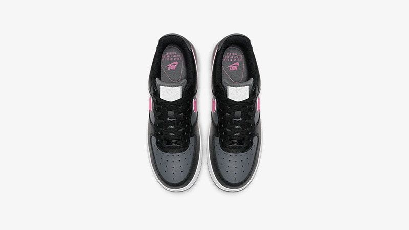 Nike Air Force 1 Low Black Pink CJ9699-001 middle