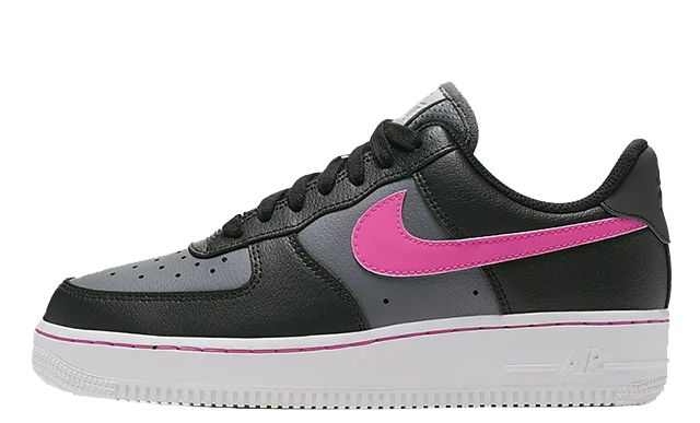 Nike Air Force 1 Low Black Pink CJ9699-001