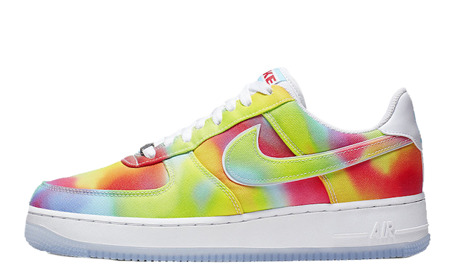 Nike Air Force 1 Low Tie Dye Chicago CK0838-100