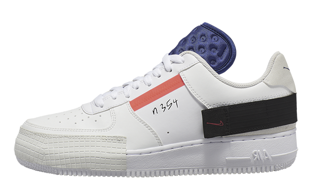 Nike Air Force 1 Low Type White CI0054-100
