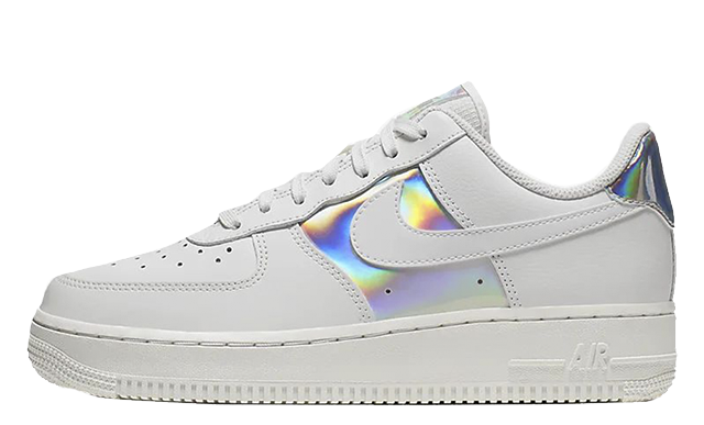 Nike Air Force 1 Low White Silver CJ9704 100Eneste kvinder CJ9704 100 The Sole Womens