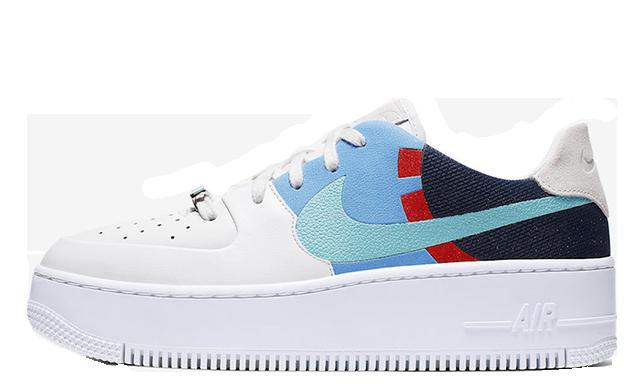 economico belle scarpe online in vendita Nike Air Force 1 Sage Low Basketball Court | BV1976-002