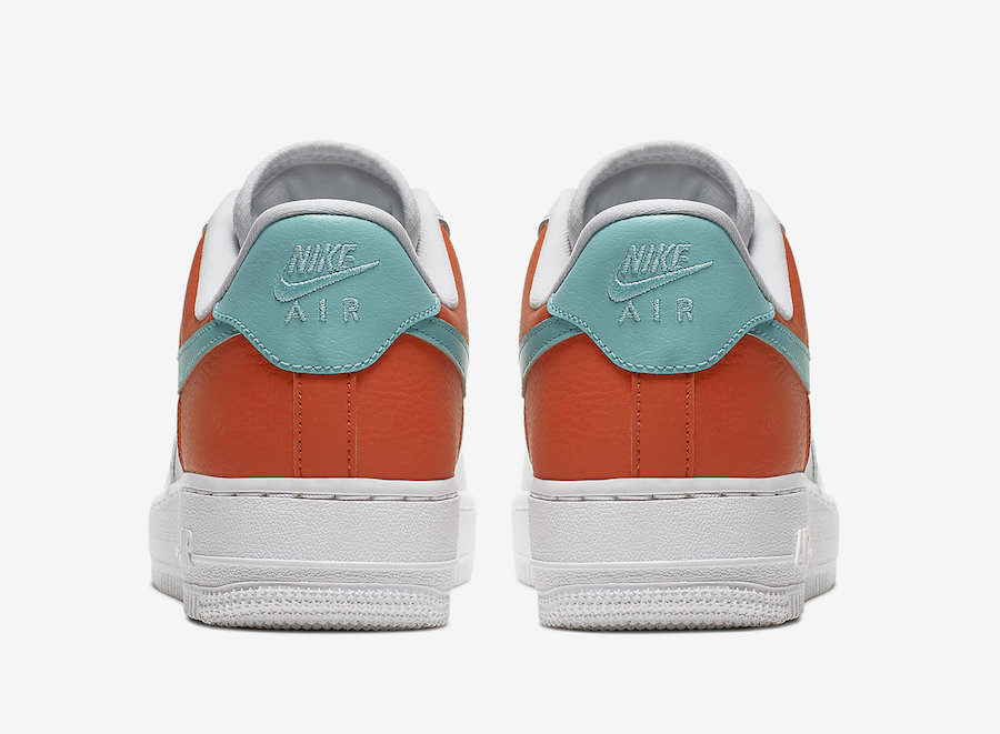 Basketball Lace Locks Decorate This Nike Air Force 1