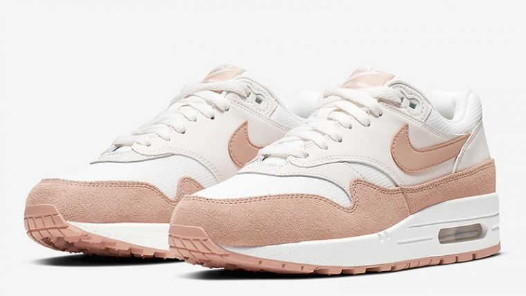 Nike Air Max 1 White Sand 319986-120 front thumbnail image