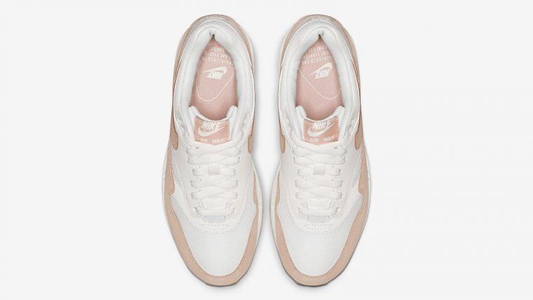 Nike Air Max 1 White Sand 319986-120 middle thumbnail image