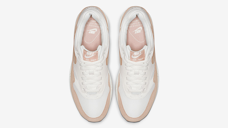 Nike Air Max 1 White Sand 319986-120 middle