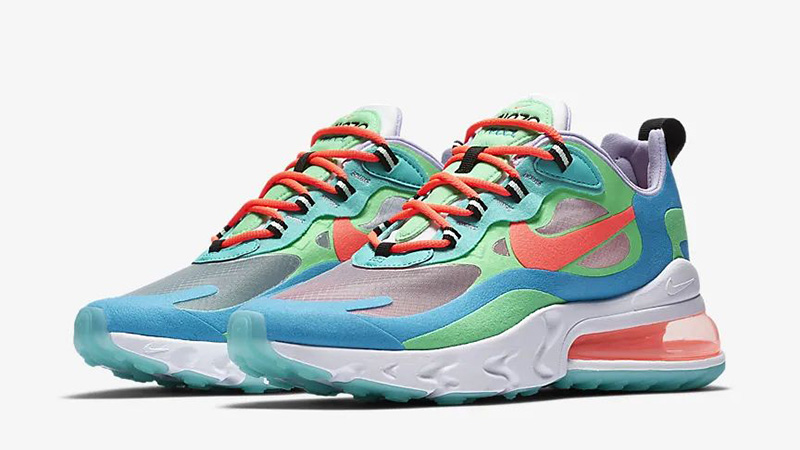 separation shoes e219a 417b2 Nike Air Max 270 React Blue Lagoon | AT6174-300