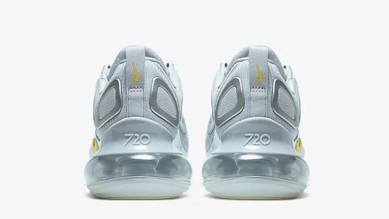 Nike Air Max 720 Pure Platinum Yellow CN0141-001 back thumbnail image