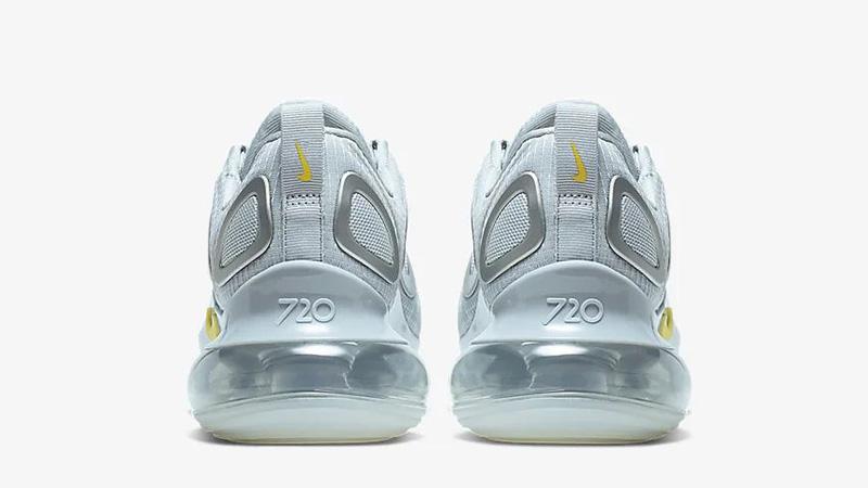 Nike Air Max 720 Pure Platinum Yellow CN0141-001 back