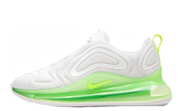Nike Air Max 720 White Volt | AR9293 104