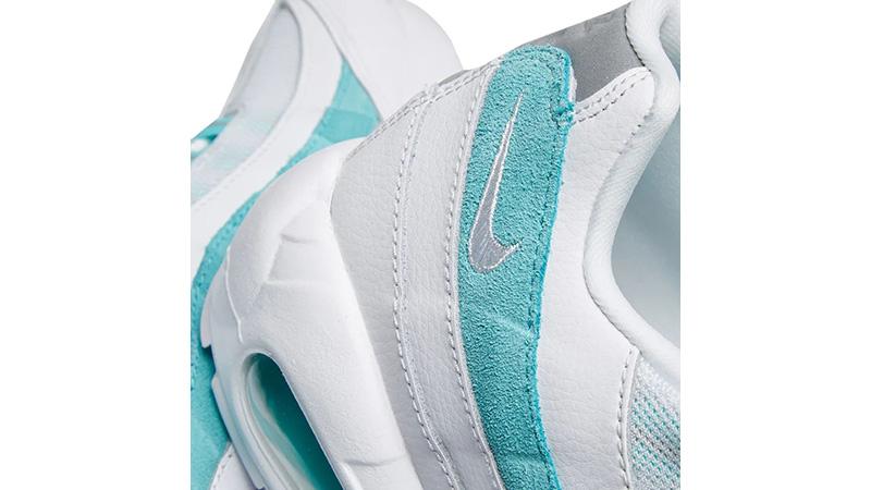 Nike Air Max 95 Light Aqua 307960-115 middle
