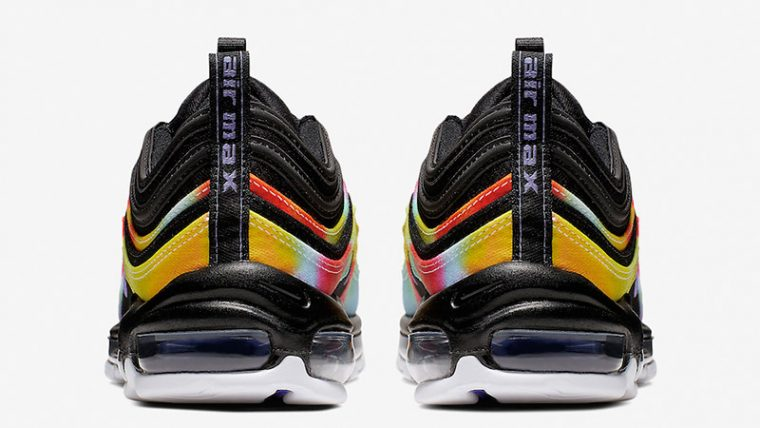 Nike Air Max 97 Tie Dye Black CK0841-001 back thumbnail image