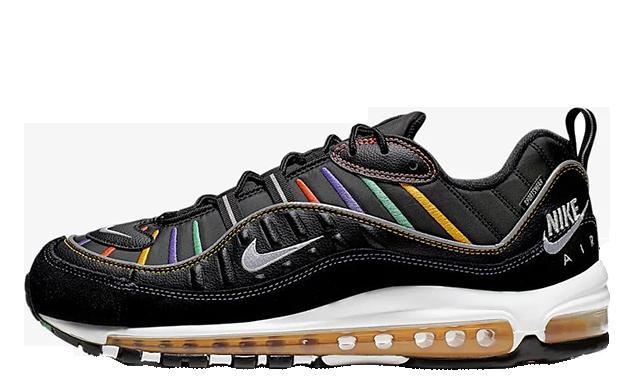 Nike Air Max 98 Black Multi BV0989-023