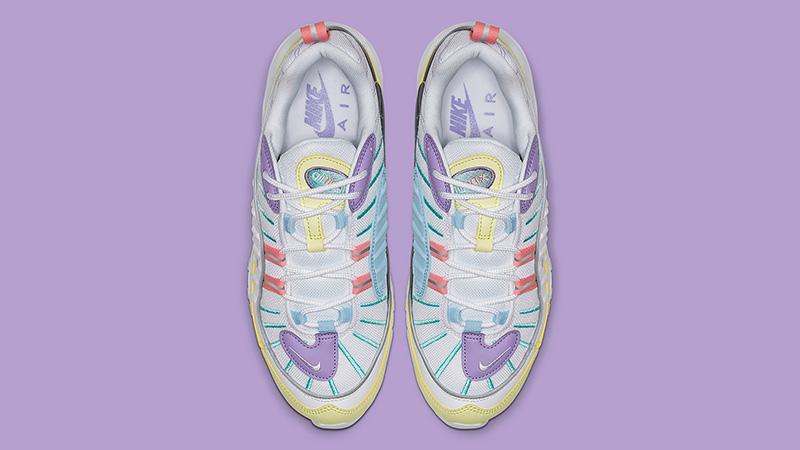Nike Air Max 98 Pastel Yellow Lilac