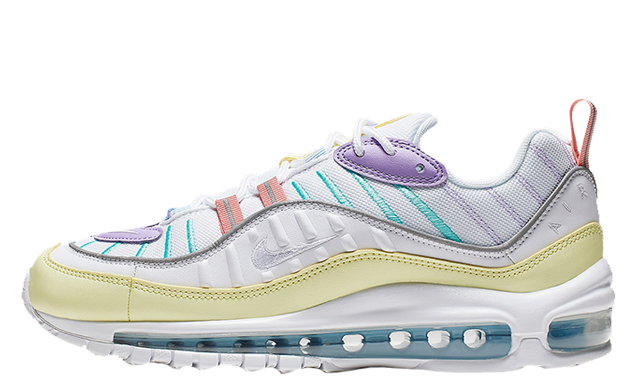 detailed look eea9a 0a567 Nike Air Max 98 Pastel Yellow Lilac | AH6799-300