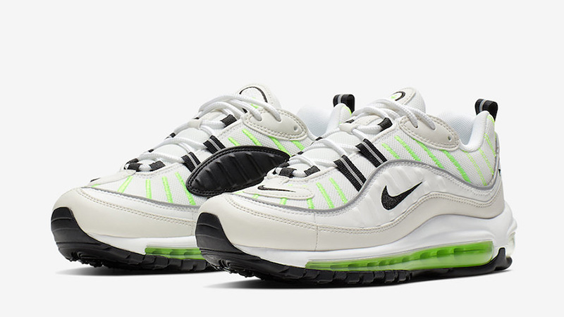buy popular a4001 389f4 Nike Air Max 98 Green White