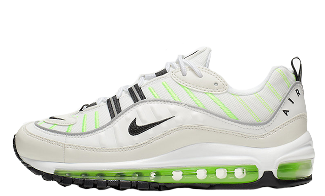 buy popular 6a99b ba6a0 Nike Air Max 98 Green White