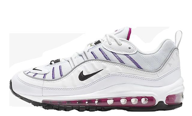 Nike Air Max 98 Grey White   AH6799 023